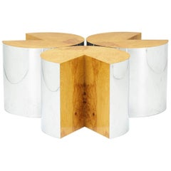 Set of Three Occasional Tables by Milo Baughman for Thayer Coggin