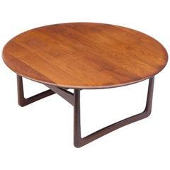 Round Coffee Table by Peter Hvidt & Orla Mølgaard-Nielsen