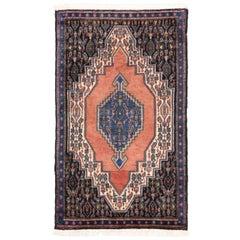 Vintage Sanadaj Persian Rug