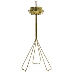 1950s Tripod Vintage Brass Ashtray Mid-Century Modern in Auböck and Bosse Style