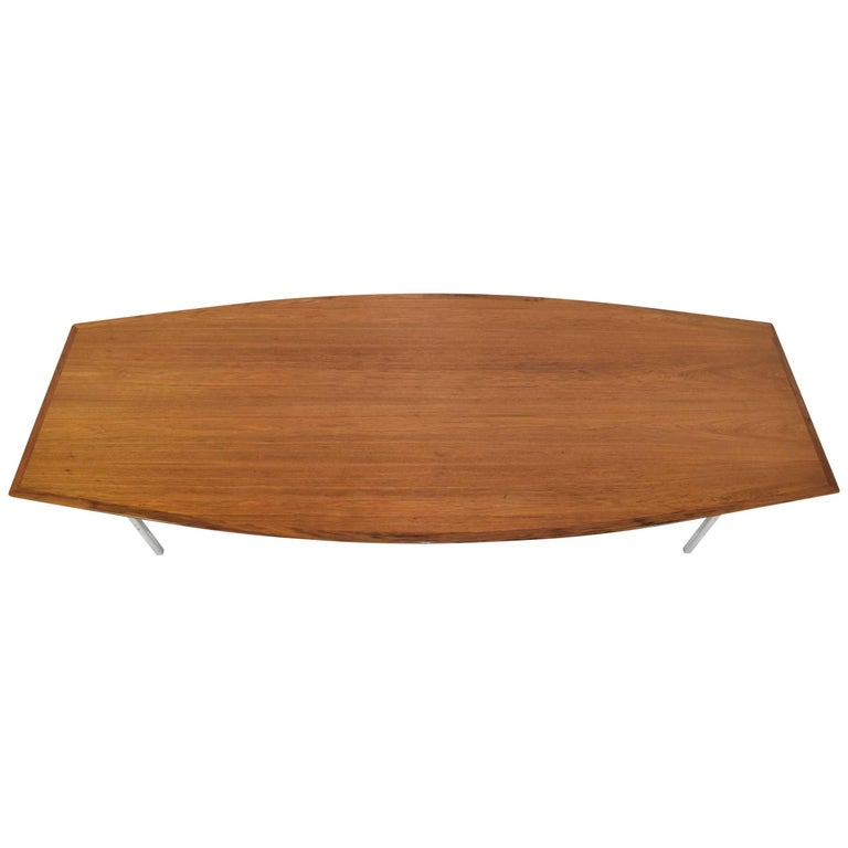 Florence Knoll Boat Shaped Table in Maple For Sale at 1stdibs : 8615013master from www.1stdibs.com size 768 x 768 jpeg 27kB
