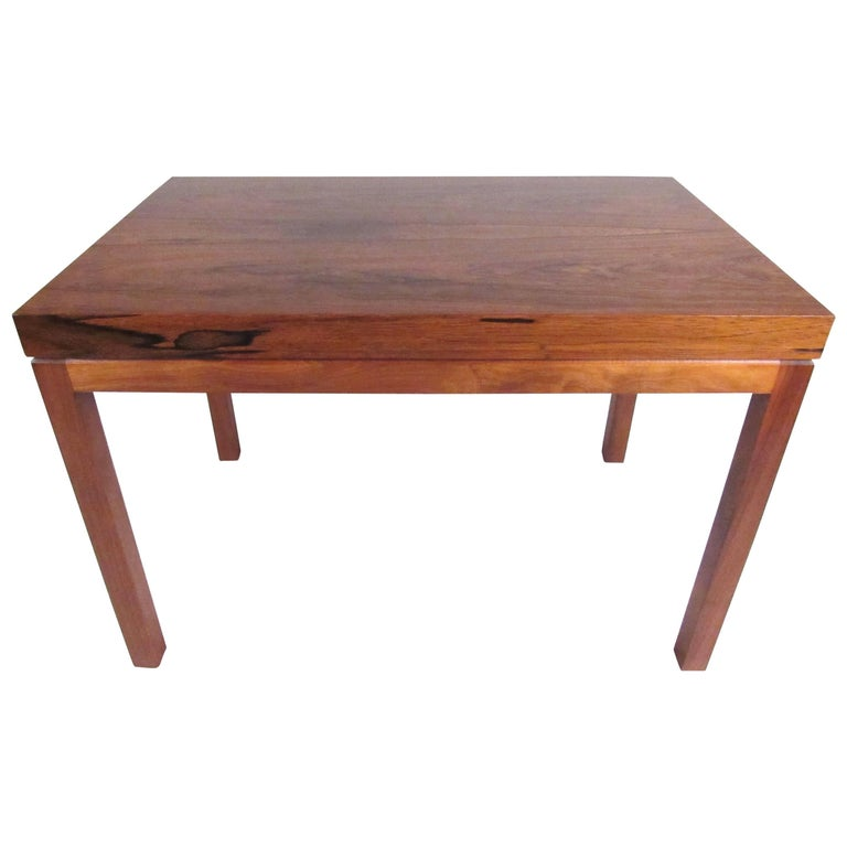 Milo Baughman for Thayer Coggin Rosewood Side Table