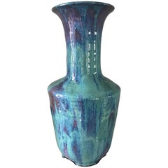 Handmade Modern, Custom Glazed Ceramic Vase #4, Vessel, Decorative Object