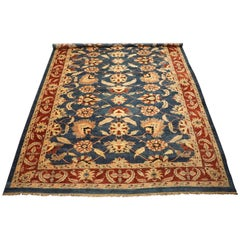 Oversized Vintage Sultanabad Rug with Abrash, circa 1970