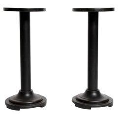 Round Wooden Stands