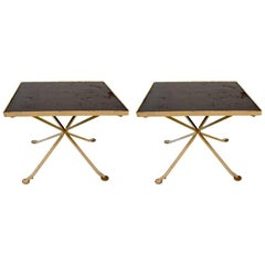 Unusual Pair of Tables Attributed to Woodard