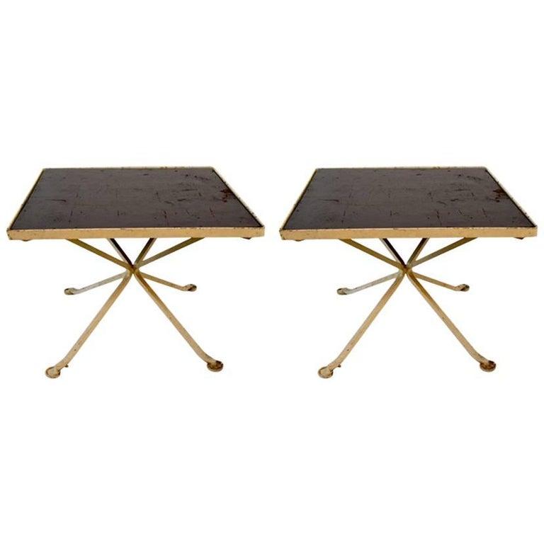 Unusual Pair of Tables Attributed to Woodard