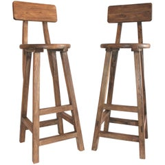 Industrial Tall and Heavy Bar Stools
