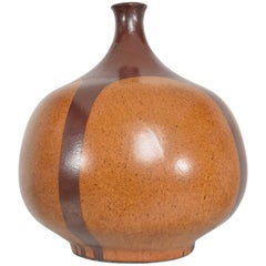 Midcentury Oversized David Cressey Ceramic Vase Lamp