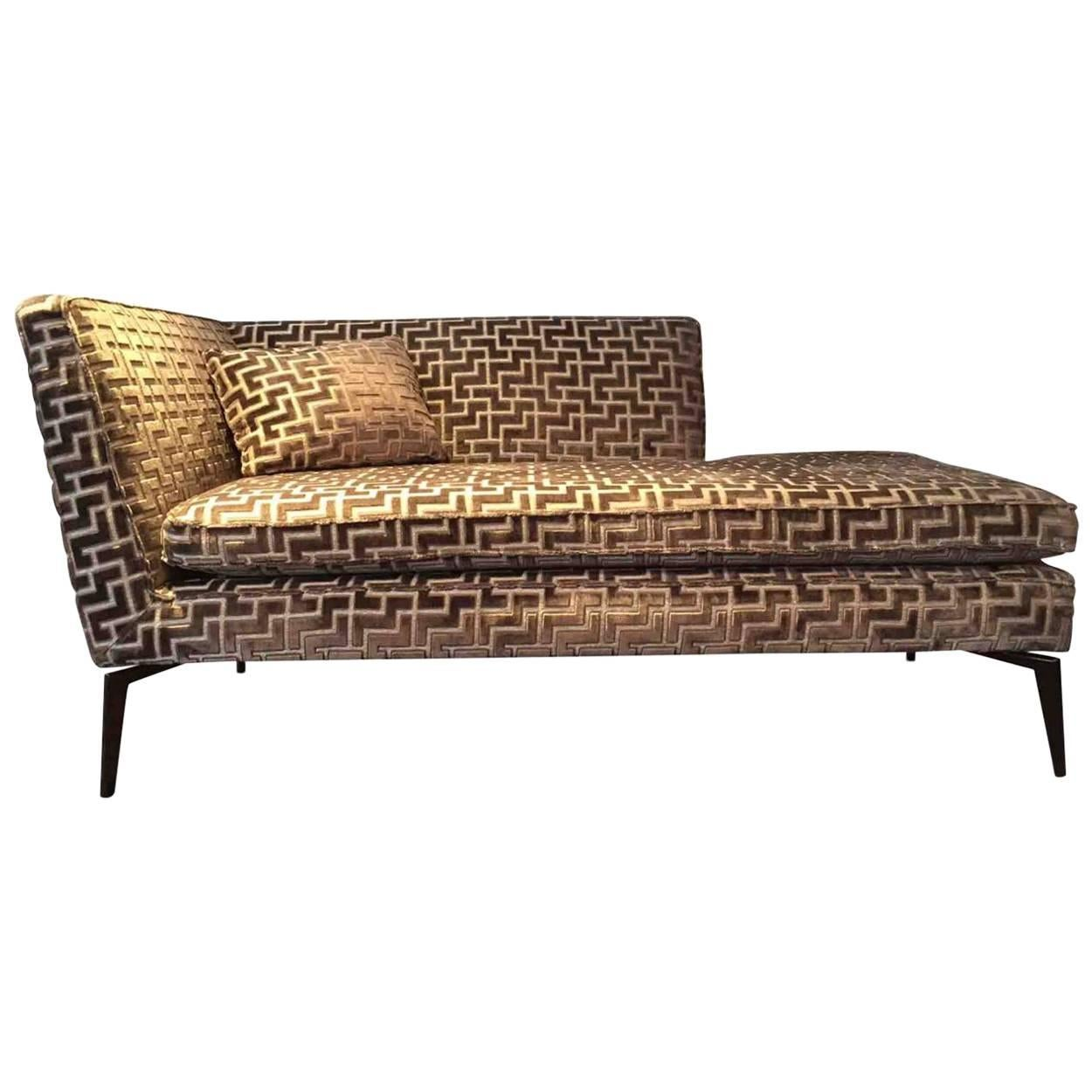 Chaise Longue  Kay  by Manufacturer Christine Kröncke in Metal ...  sc 1 st  1stDibs : metal chaise - Sectionals, Sofas & Couches