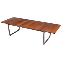 Danish Modern Hvidt & Mølgaard-Nielsen Teak Rectangular Coffee Table