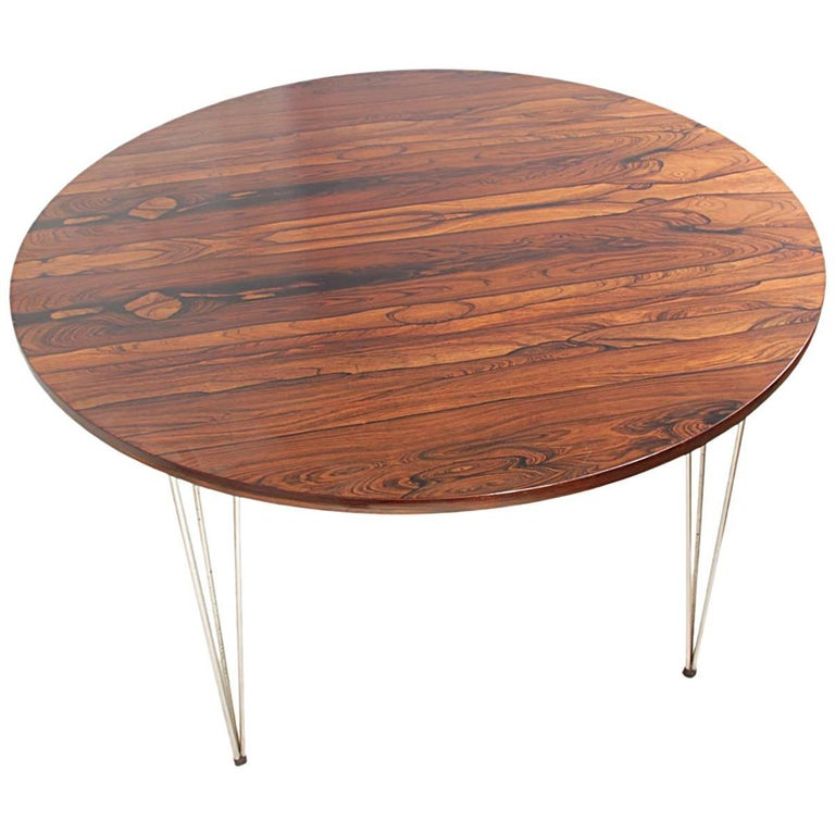 Midcentury Dining Table by Hans Battrud