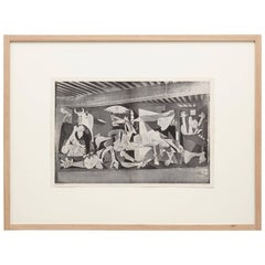 """Picasso's """"Guernica,"""" from Verve 'Photograph by Dora Maar'"""