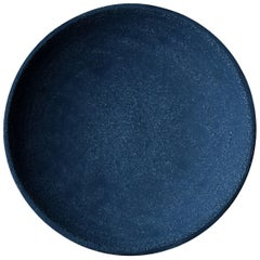 Indigo Deep Plate by Christel Thue