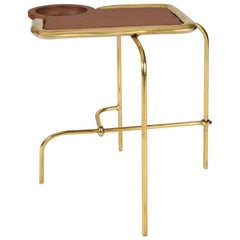 Brass Side Table, Compound I, Misaya
