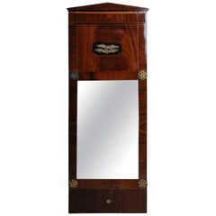 19th Century Unique Empire Wall Mirror, circa 1820