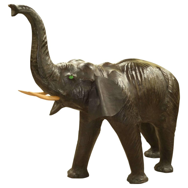 Large Leather Elephant For Sale At 1stdibs