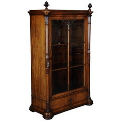 19th Century Beautiful Early Biedermeier Showcase, circa 1830