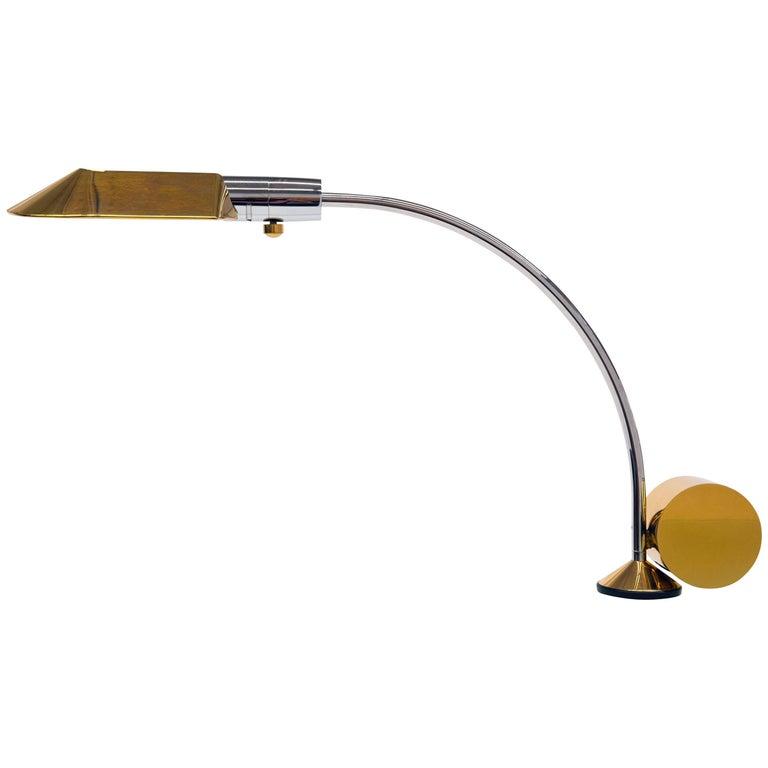 Cedric Hartman Brass Counter Weigh Table Lamp