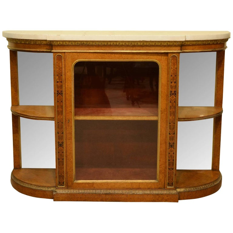 George IV Maple Credenza with Marble Top
