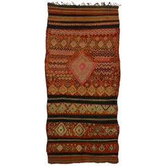 Vintage Berber Moroccan Rug with Modern Tribal Style