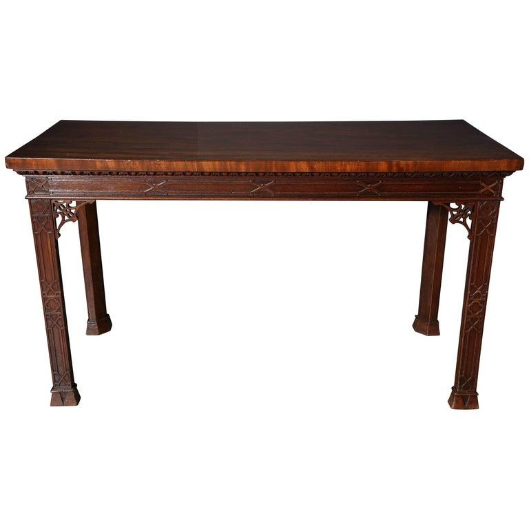 Irish mahogany console table for sale at 1stdibs for Sofa table ireland
