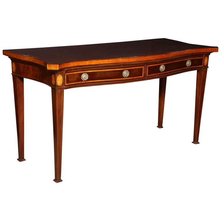 George III Mahogany Console Table