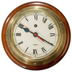 Smiths Astral Ship's Bulkhead Clock with 8 Day Movement and Dial