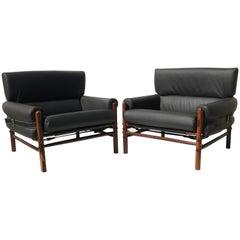 Pair of Arne Norell Kontiki Lounge Chairs
