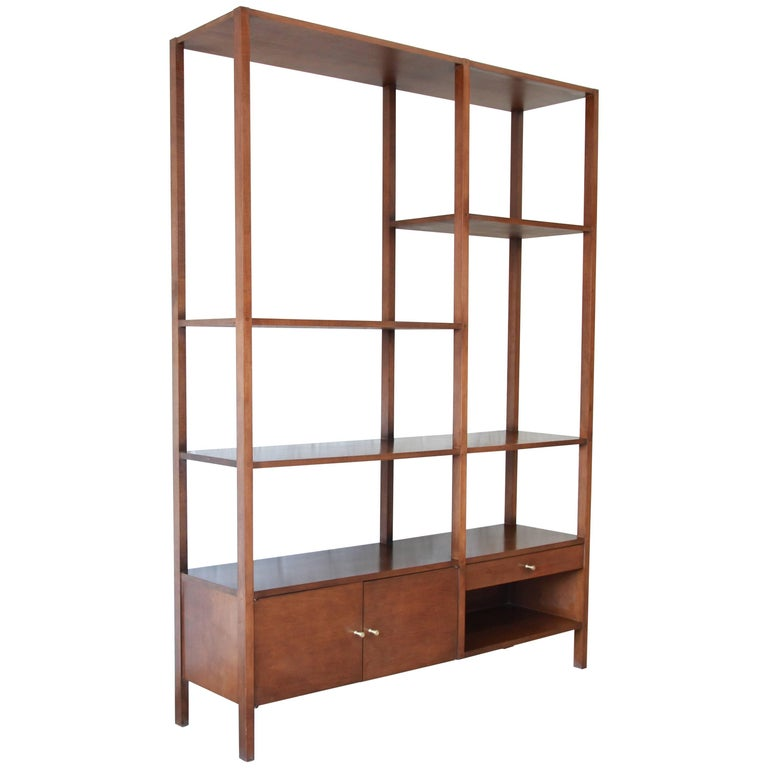 Paul McCobb Planner Group Midcentury Wall Unit or Room Divider, 1950s