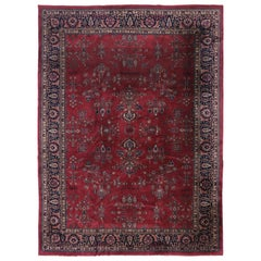 Antique Turkish Sparta Rug with Venetian Regency Style