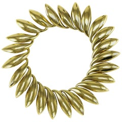 Gucci 18 Karat Gold Ladies Modernist Bracelet