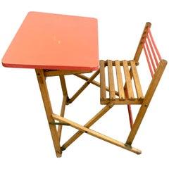 French Childs Folding Desk