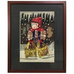 Kiyoshi Saito Japanese Woodblock Print