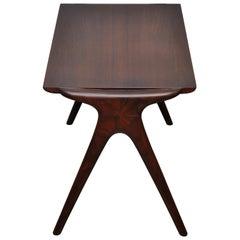 Vladimir Kagan Walnut Side Table