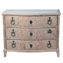 18th Century German Louis XVI Chest of Drawers Gustavian Style Patina