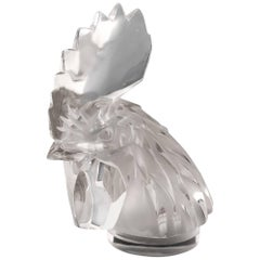 Rene Lalique Tete De Coq Cockerel's Head