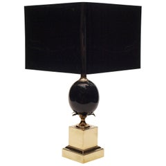 Black and Gold Maison Charles Lamp