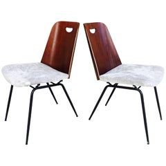 Pair of Gastone Rinaldi Du22 Chairs