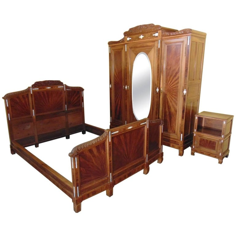 Art Deco Bedroom Suite, Circa 1930 For Sale At 1stdibs