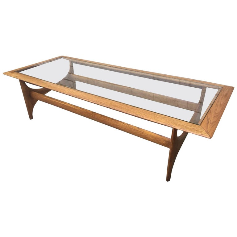 Adrian Pearsall Style Atomic Coffee Table By Lane For Sale At 1stdibs
