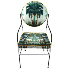 Luigina Evasion Exotic Chair by Sotow, Handmade in Italy