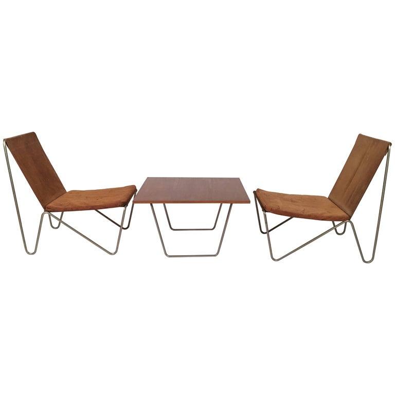 verner panton bachelor chairs and table for sale at 1stdibs. Black Bedroom Furniture Sets. Home Design Ideas