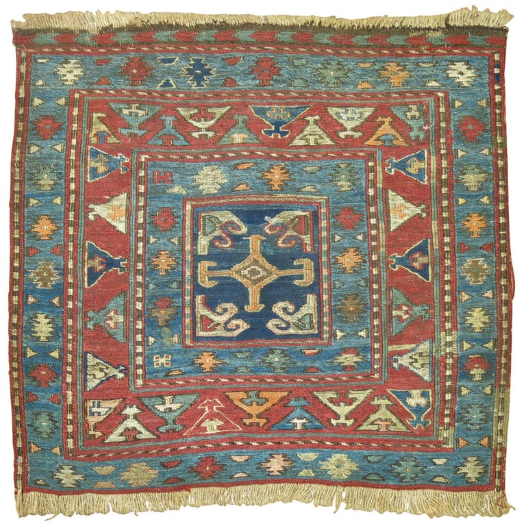 Antique Persian Soumac Rug For Sale At 1stdibs