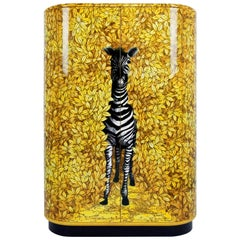 Fornasetti Zebra Curved Cabinet
