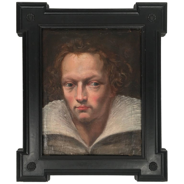 Old Master Painting Portrait of a Handsome Young Man 1
