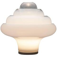 Lotus Table Lamp, Model LT305 by Carlo Nason for Mazzega, Murano, Italy