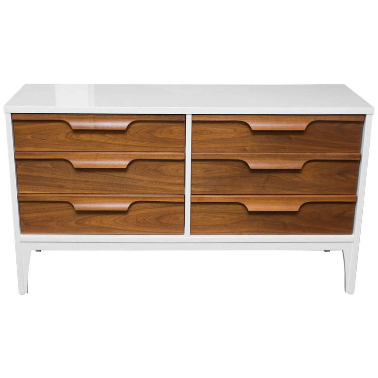 Lacquered Low Dresser By Johnson Carper 1
