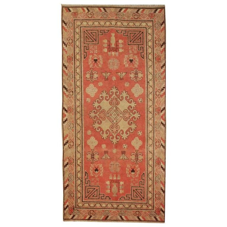 Antique Samarkand Rug For Sale