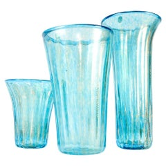 Mid-20th Century Set Murano Glass Decorative Pieces/Vases